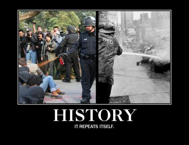 history-repeats-itself-comparison-of-lt-john-pike-and-being-hosed-in-civil-rights-protest